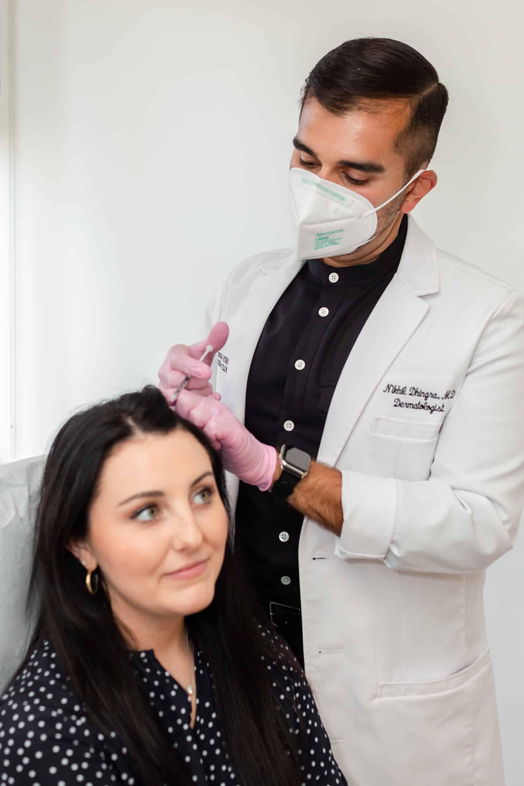 NYC dermatologist, Dr. Nikhil Dhingra