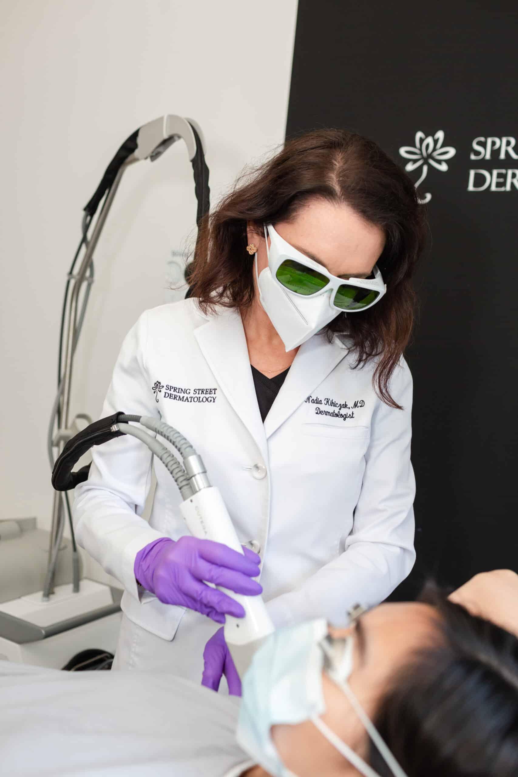 NYC dermatologist, Dr. Nadia Kihiczak