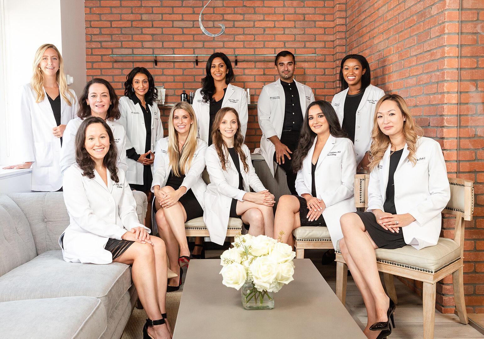 Group photo of Board Certified Dermatologists at Spring Field Dermatology in New York City, NY