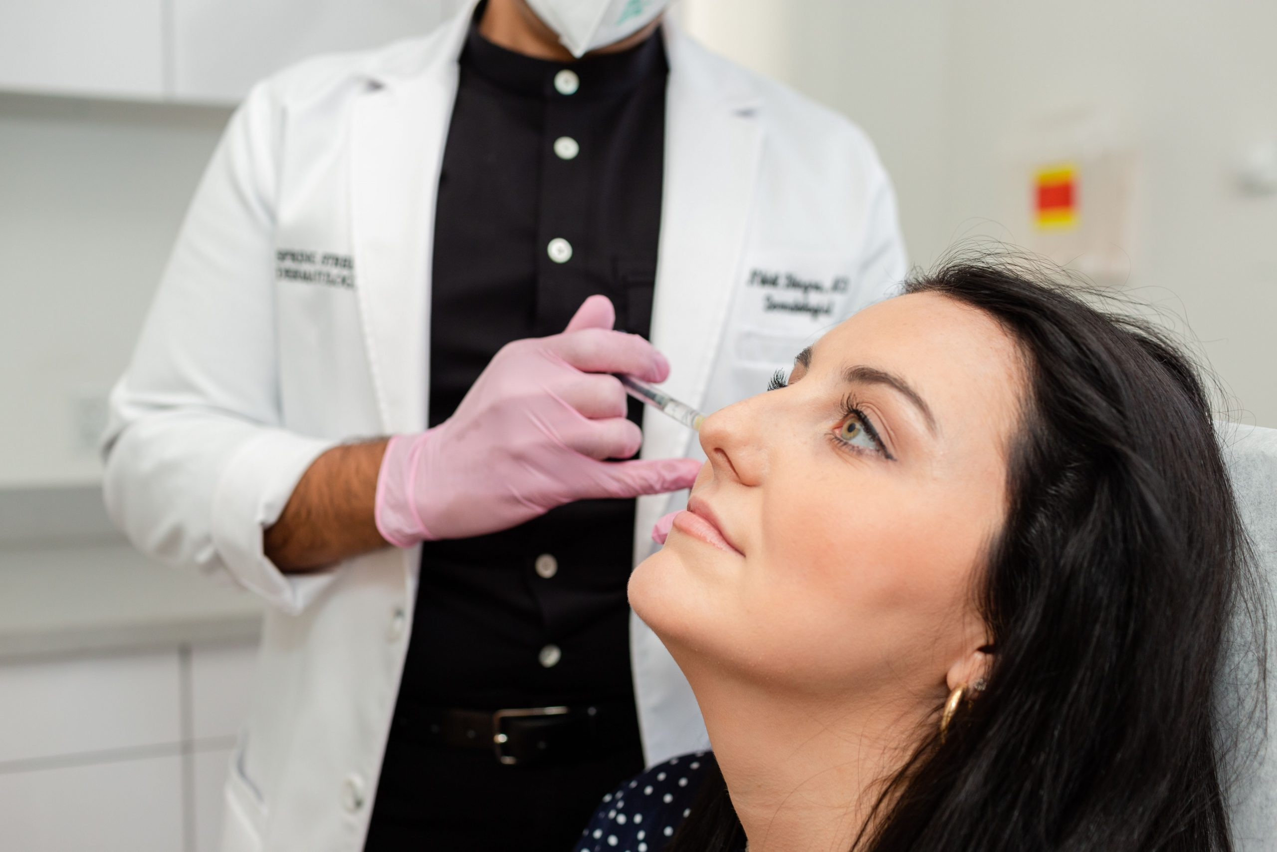 Dermal Fillers to treat wrinkles at Spring Street Dermatology of NYC