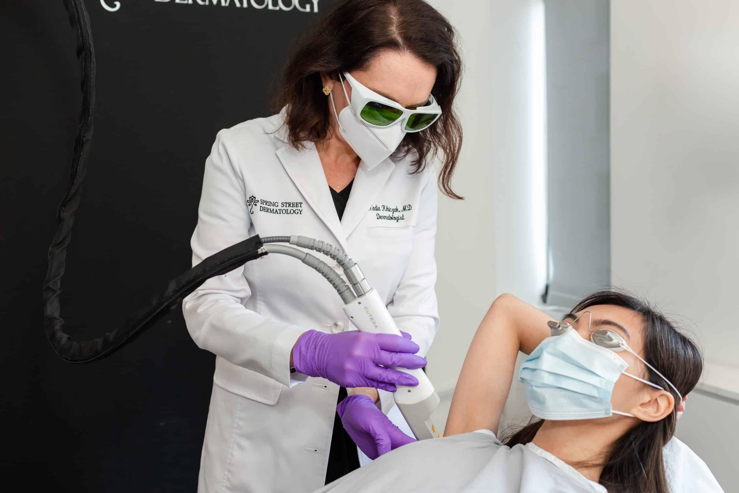 Laser Genesis at Spring Street Dermatology in New York City